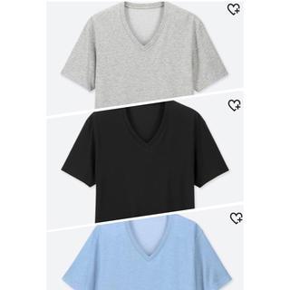 UNIQLO - VネックTシャツ 3枚セット