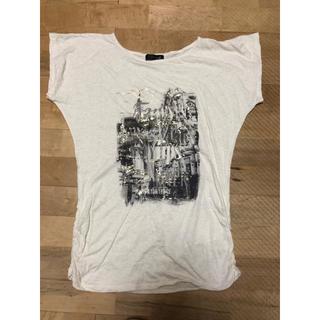 チャコット(CHACOTT)のクリーム色 Tシャツ(Tシャツ(半袖/袖なし))