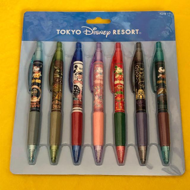 Disney(ディズニー)のディズニー ミッキーマウス ボールペンセット エンタメ/ホビーのおもちゃ/ぬいぐるみ(キャラクターグッズ)の商品写真