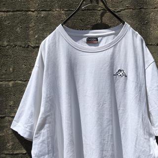 Kappa - KAPPA ワンポイントロゴ Tシャツ 古着 オーバーサイズ
