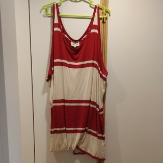 ヴィヴィアンウエストウッド(Vivienne Westwood)のVivienne Westwoodのアシンメトリーワンピース38(ひざ丈ワンピース)