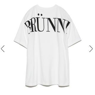 フレイアイディー(FRAY I.D)の FRAY I.D バックプリントロングT  Tシャツ ホワイト(Tシャツ(半袖/袖なし))