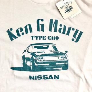 ニッサン(日産)の日産 スカイライン ケンメリ Tシャツ L Ken&Mary C110(Tシャツ/カットソー(半袖/袖なし))
