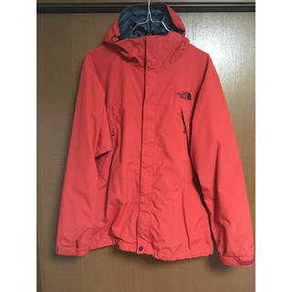 THE NORTH FACE - ノースフェイス スクープジャケット レッド 赤 THE NORTH FACE