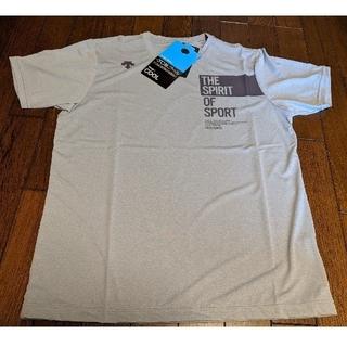 デサント(DESCENTE)のDESCENTE サンスクリーン ハーフスリーブシャツ Lサイズ 新品(Tシャツ/カットソー(半袖/袖なし))