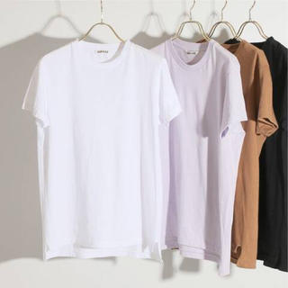 IENA - AURALEE SEAMLESS クルーネックTシャツ