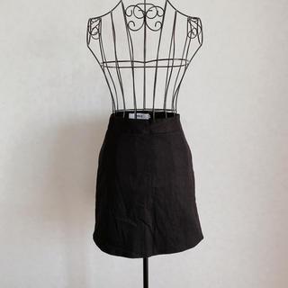 dholic - DHOLIC台形スカート ブラック