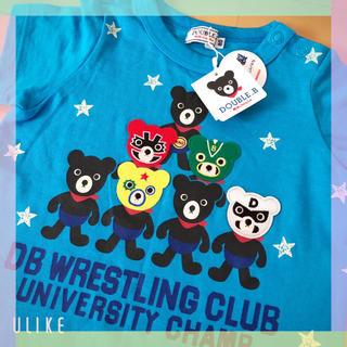 DOUBLE.B - 新品未使用☆ミキハウス ダブルB♪半袖Tシャツ 80