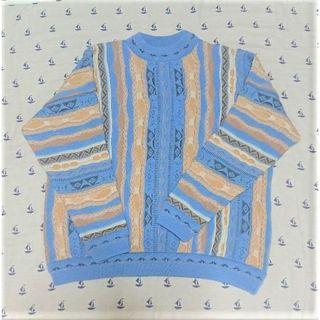 【COOGI風】Purely Australian 3D ウールセーター(ニット/セーター)
