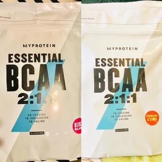 マイプロテイン(MYPROTEIN)のBCAA 250g ベリーブラスト味 ストロベリーライム味 bcaa(アミノ酸)