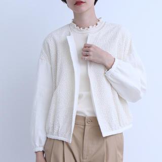 bulle de savon - yuni こんぺいとう刺繍ブルゾン