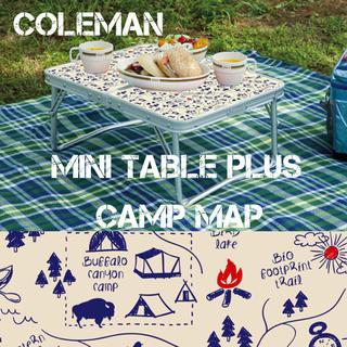 コールマン(Coleman)のコールマン ミニテーブルプラス キャンプマップ コンパクト テーブル(テーブル/チェア)