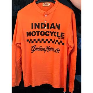 インディアン(Indian)の美品 インディアンモトサイクル  メンズロングTシャツ(Tシャツ/カットソー(七分/長袖))