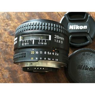 Nikon - Nikon AF Nikkor 28mm F2.8 D ニコン 単焦点レンズ