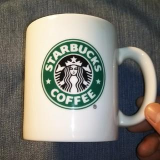 スターバックスコーヒー(Starbucks Coffee)の【STARBUCKS】 旧ロゴ マグカップ(ノベルティグッズ)