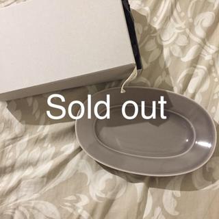 イイホシユミコ♡Oval plate Mサイズ 1枚