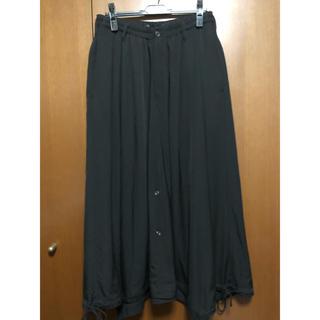 yohji yamamoto 18AW サルエルスカート