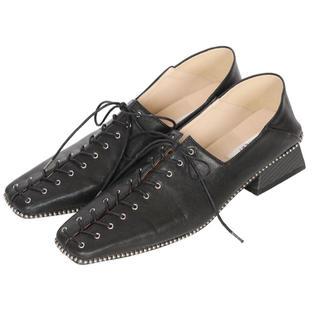 アメリヴィンテージ(Ameri VINTAGE)の【完売】Ameri vintage ローファー Mサイズ ブラック(ローファー/革靴)