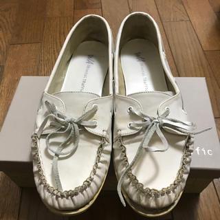 オリエンタルトラフィック(ORiental TRaffic)のOriental TRAFFIC 白ローファー(ローファー/革靴)
