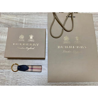 BURBERRY - BURBERRY キーリング