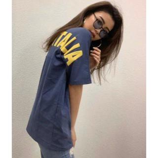 GYDA - 【GYDA】FILA BIELLA ITALIA BIG Tシャツ
