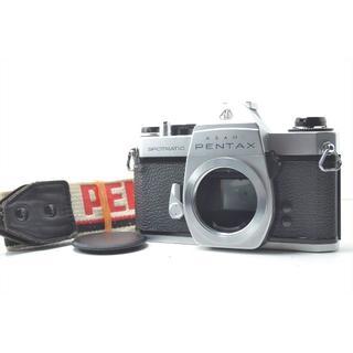 ペンタックス(PENTAX)のPentax ペンタックス SPII ボディ ストラップ 美品 #1136(フィルムカメラ)