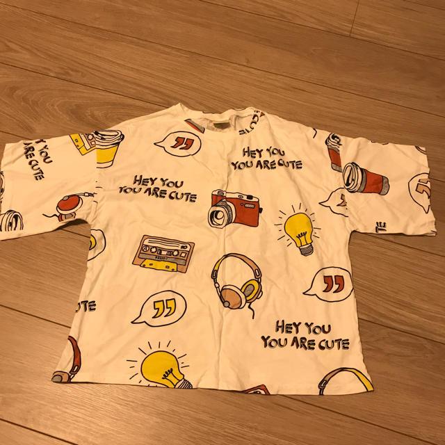 ZARA KIDS(ザラキッズ)のザラ girls 164 レディースのトップス(Tシャツ(半袖/袖なし))の商品写真