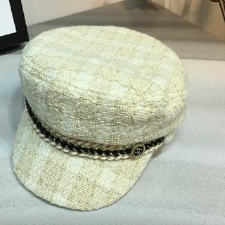 CHANEL - CHANEL シャネル 綺麗なニット帽子