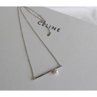アメリヴィンテージ(Ameri VINTAGE)のNEW!Pearl bar  necklace・silver925入荷しました(ネックレス)