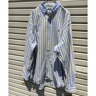 ポロラルフローレン(POLO RALPH LAUREN)のラルフローレン ボタンダウンシャツ ストライプ (シャツ)