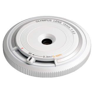 オリンパス(OLYMPUS)の新品未使用★オリンパス BCL-1580 ボディキャップレンズ ホワイト(レンズ(単焦点))