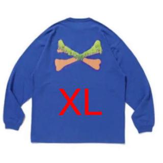 wtaps min-nano ロンT Tシャツ XL サイズ ブルー