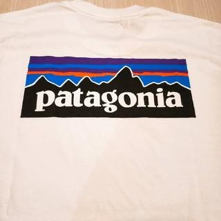 patagonia - パタゴニア白p6Tシャツ