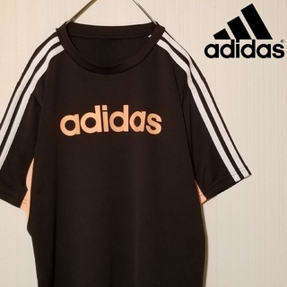 adidas - (レディース・キッズ)  adidas スリーストライプ Tシャツ