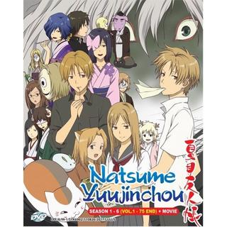 夏目友人帳 DVD シーズン1~6 全75話・OVA インポート盤