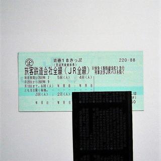 青春18きっぷ  4回分 8/19 早朝に発送!