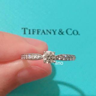 ティファニー(Tiffany & Co.)の新品 ティファニー Tiffany チャネルセッティング ダイヤモンド リング(リング(指輪))