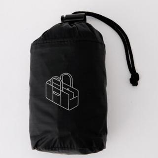 MUJI (無印良品) - 新品    無印良品  パラグライダークロス 撥水 ボストンバッグ 黒
