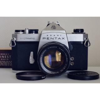 ペンタックス(PENTAX)のPentax SP + S.Takumar 1.8/55 初期型・美品・試写済(フィルムカメラ)