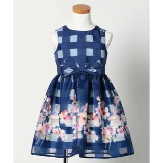 クミキョク(kumikyoku(組曲))の新品☆組曲 キッズ  女の子  ドレス ワンピース110 入学式 発表会 結婚式(ドレス/フォーマル)
