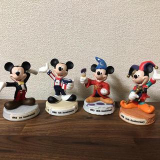 Disney - 東京ディズニーランド15周年記念フィギュア 4体セット 木箱付き