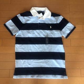 POLO RALPH LAUREN - 新品タグ付き ラルフローレン 半袖ラガーシャツ ブルー&ネイビー M(L相当)