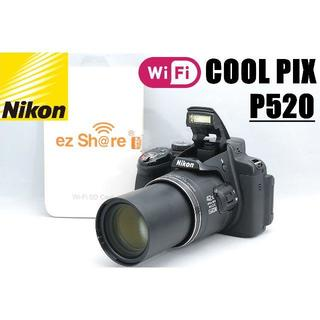 Nikon - 42倍望遠レンズ搭載♪ Wi-Fi SDカード&予備バッテリー付き
