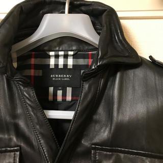 BURBERRY BLACK LABEL - レザージャケット