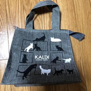 KALDI - KALDI 猫  バッグ  ネコバック