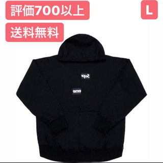 Supreme - L【最安値】Supreme CDG Split Box Logo Hooded