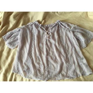 しまむら - 美品♡しまむら♡シフォン♡ブラウス♡シャツ♡水着♡モロッコ♡リゾート♡ワンピース