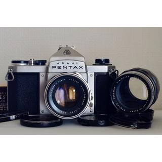 ペンタックス(PENTAX)のPentax S2 + Takumarレンズ2本・美品・試写済(フィルムカメラ)