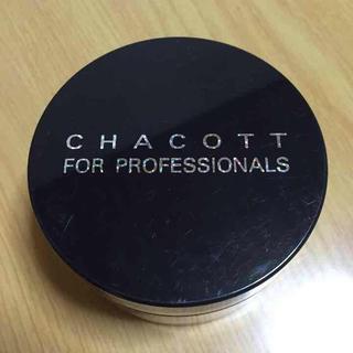 チャコット(CHACOTT)のCHACOTT フィニッシングパウダー(フェイスパウダー)