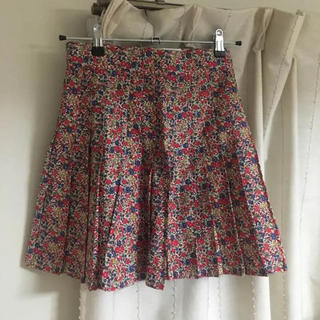 イエナ(IENA)のリバティスカート (ひざ丈スカート)
